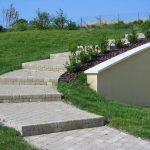 Escalier pavé